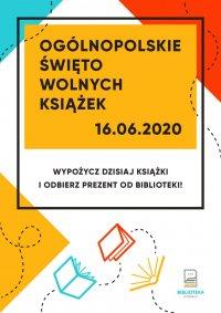 Uwolnij książki razem z Biblioteką! Ogólnopolskie Święto Wolnych Książek