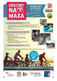 Kręcimy na maxa na sportowo z rowerem - żorskie rowerowe święto już w najbliższą niedzielę!
