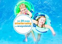 Od 28 maja ponownie otwarte są baseny i aquaparki. Wracają również bezpłatne poniedziałki