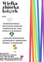 """""""Wielka Zbiórka Książek"""" dla pacjentów hospicjum w Żorach"""