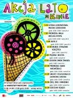 """Akcja """"Lato w kinie"""" dla najmłodszych : Sierpień"""