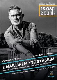 Spotkanie z Marcinem Kydryńskim w żorskiej bibliotece