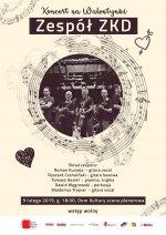Walentynkowy koncert żorskiej kapeli ZKD.