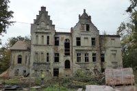 Renowacja Pałacu w Baranowicach - prawe trwają