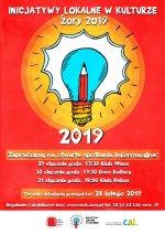 Inicjatywy Lokalne w Kulturze 2019