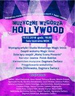 Muzyczne wzgórza Hollywood - widowisko muzyczne z popularnymi piosenkami z bajek i filmów