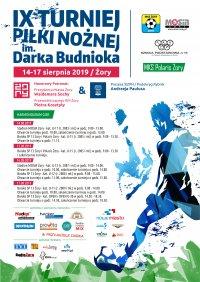 Podsumownie IX Turnieju Piłki Nożnej im. Darka Budnioka - Żory, 14 - 17.08.2019
